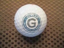 LOGO GOLF BALL-GERBER-PROFESSIONAL PERFORMANCE...COMMODES,PLUMBING