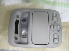 2006-2015 KIA SEDONA OEM GRAY OVERHEAD LIGHT CONSOLE ASSEMBLY 92821 4D100QW