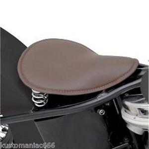 Sella mono molle Harley Davidson Custom Chopper Bobber Honda Yamaha Suzuki Guzzi