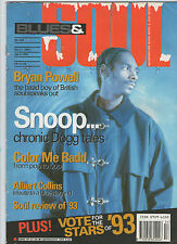 BLUES & SOUL-SNOOP DOG--No.653  DEC 21,1993-JAN 3 1994 RARE