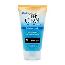 Neutrogena Deep Clean Invigorating Foaming Scrub 4.2 fl oz Face Skin