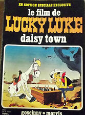 ANCIEN ALBUM ÉDITION SOUPLE LE FILM DE LUCKY LUKE DAISY TOWN