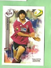 2003  RUGBY UNION CARD #63  TOUTAI KEFU,  QUEENSLAND REDS