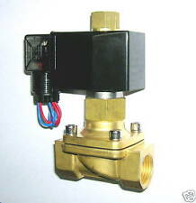 """1/2"""" Electric Solenoid Valve 120-VAC NORMALLY OPEN, new"""