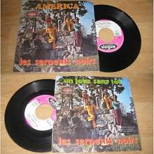 LES SERPENTS NOIRS - America Rare French PS Belgium Garage Beat 72'