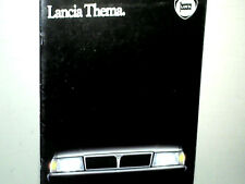 BEAU CATALOGUE LANCIA THEMA / FRENCH EDITION