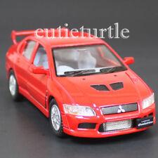 Kinsmart Mitsubishi Lancer Evolution EVO VII 1:36 Diecast Toy Car Red KT5052D-X