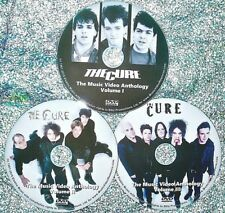 Pin & FREE THE CURE Music Video Anthology 1978- 2009 3 DVD Set 56 Videos 5.5 Hrs