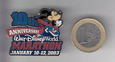 RARE PINS PIN'S .. DISNEY USA PARC WORLD COURSE MARATHON MICKEY 2003 BIG 3D ~17