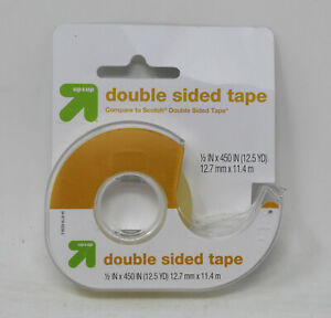 Up & Up Double Sided Tape 12.5 Yds Clear