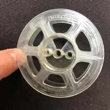 Pathescope Standard 9.5mm 50ft Cine Film 3 inch Reel / Clear Spool