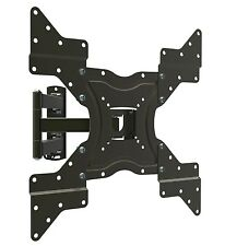 Full motion TV Wall Mount Bracket Tilt & Swivel 32 40 42 47 55 Inch LED LCD Flat