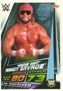 2019 WWE Slam Attax UNIVERSE - RAW SMACKDOWN NXT LEGENDS & 205 LIVE cards