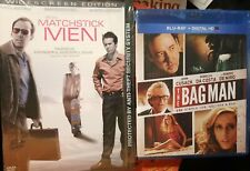 BluRay The Bag Man & Dvd Matchstick Men