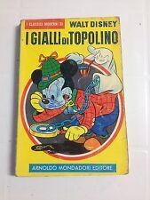 I CLASSICI MODERNI DI WALT DISNEY - I GIALLI DI TOPOLINO 1960  MONDADORI - BUONO