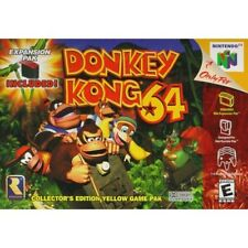 Donkey Kong 64 Nintendo 64 For N64 Game Only 0E
