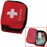 Outdoor Hiking Camping Survival Travel Emergency First Aid Kits Rescue Bag Case