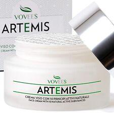 VOVEES Artemis Crema Viso Antirughe Idratante Bio con Acido