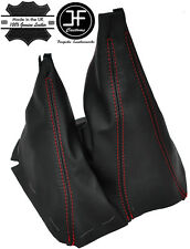 RED STITCH MANUAL GEAR & HI LOW LEATHER GAITERS FITS FORD RANGER 2006-2011