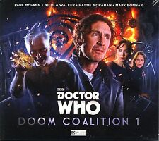 Doctor Who Doom Coalition 1 Series Audio CD Boxed Set MINT
