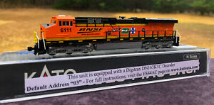 BNSF HERITAGE 25th ANNIVERSARY ES44AC CUSTOM KATO N #6111 RTR DCC EQUIPPED NEW