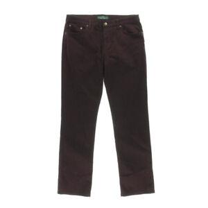 Ralph Lauren Jeans 'MODERN STRAIGHT' Purple W24 L29 AU6 US2 UK4 NEW Womens Girls