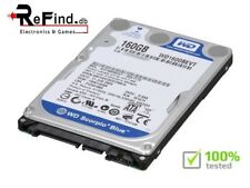 "Hard Disk PC MAC Western Digital WD1600BEVT 160GB 5400RPM 8MB SATA 2,5""  HD"