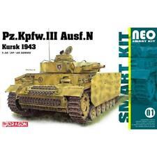 Dragon 1/35 German PzKpfw III Ausf.N Kursk 1943 Smart Kit 6559