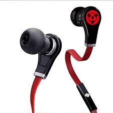 Anime Naruto Syaringan Logo Stereo In-Ear Earphone Headphone For MP3 Phone PC A