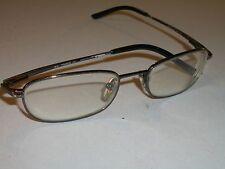 ray ban rb 1013t 3001 46 [] 17 sleek rectangulars eyeglass/sonnenbrille rahmen nur