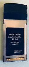 FireWire CardBus Pc Card Western Digital