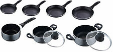 San Ignacio Marble Coated Non Stick Frying Pans Pots Can be Used on Induction