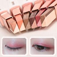 Double Color Eye Shadow Gradient Color Velvet Makeup Women Pearl Pen,Eyeshadow^