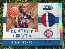 2015-16 Panini Threads Century Greats Threads #10 Isiah Thomas 8/10 Sick Patch