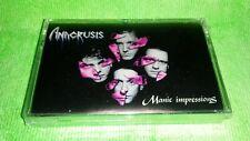 ANACRUSIS 1991 MANIC IMPRESSIONS CASSETTE (SEALED) METAL BLADE OOP MEGA RARE!