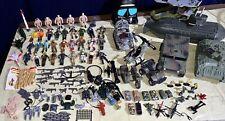 Huge Lot Of 80s 90s 00s Gi Joe, Lanard Figures/Vehicles/Micro Machines/Weapons