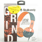 Skullcandy Grind On-Ear Headphones Headset with Built-In Microphone Remote NEW
