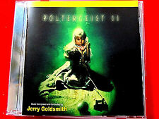 Poltergeist II:Deluxe Edition Jerry Goldsmith CD Varese Sarabande 14 tracks LN