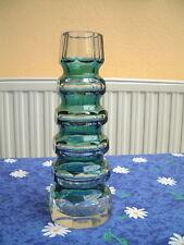 Konisch facettierte Glas-Vase Carl Meltzer Haida Böhmen