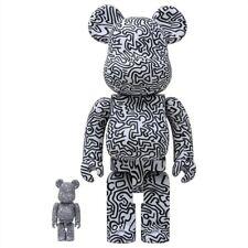 Medicom Be@Rbrick Keith Haring #4 100% 400% Bearbrick Figure Set