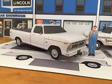 Papercraft Dukes of Hazzard Jesse Duke Ford pickup truck Paper Model EZU-make