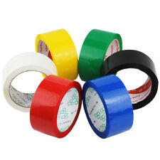 Multi-color 1cm-6cm Width Box Carton Sealing Packing Shipping Package Tape x 40M
