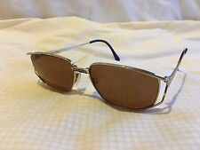Neostyle Elvis Brand 667 56 16 135 Vintage RX Gold Sunglasses Made in Germany