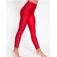 American Apparel Spandex Disco Leggings With Zips, XS, 6