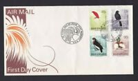 PNG493) Papua New Guinea 1992 Birds of Paradise II Air Mail FDC