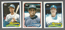 1989 Topps Traded baseball set  Griffey PSA and other rookies