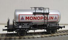 """Brawa 49225 2-achsiger Kesselwagen """"Monopolin"""" der DRG in Epoche II NEU + OVP"""