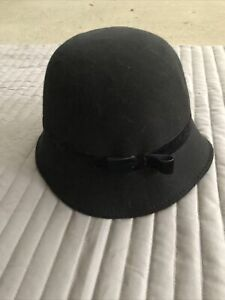 Gymboree Girls Black Winter Hat Large kids