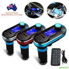 Wireless Bluetooth Car Kit FM Transmitter Radio MP3 Music Player LCD USB ChargeB