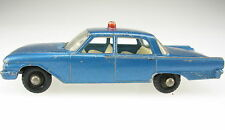 MATCHBOX No 55 - Ford Fairlane - Police Car - Lesney Regular Wheels - Model Car